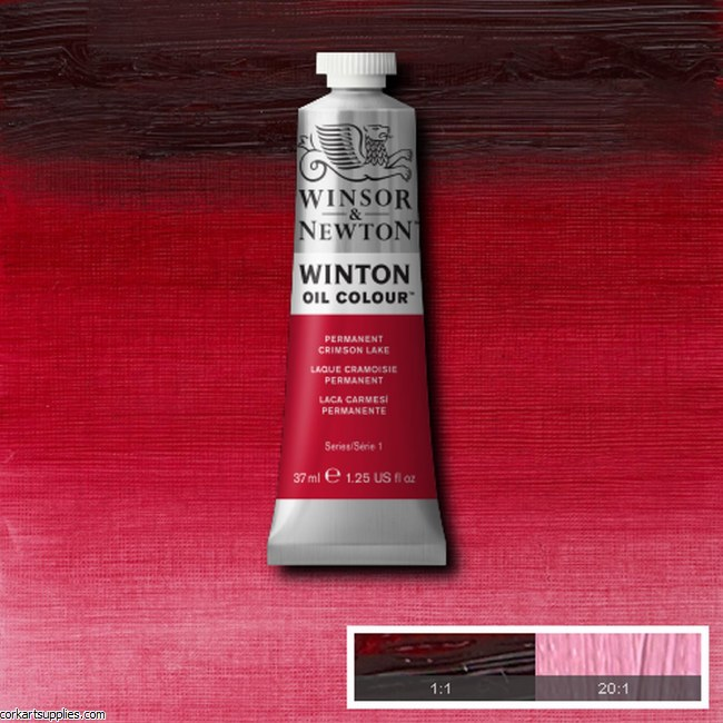 Winton Oil Colour 37ml Permanent Crimson Lake