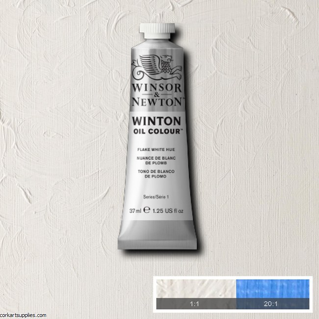 Winton Oil Colour 37ml Flake White (Hue)