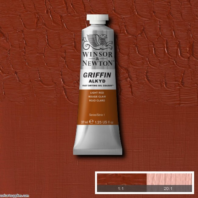 Griffin Alkyd 37ml Light Red