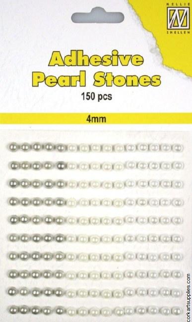 Gem Pearls 4mm Whites 150pk