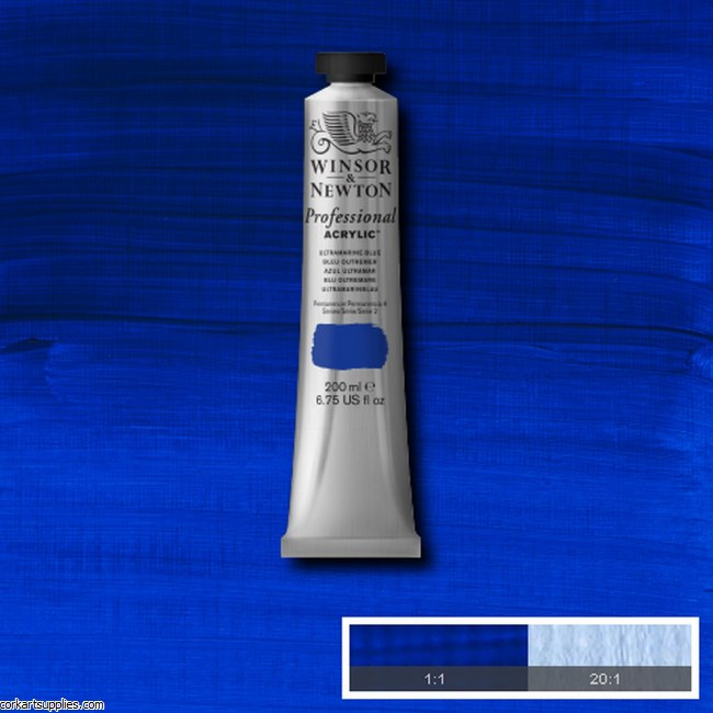 Ultramarine 200ml Artists' Acrylic Winsor & Newton