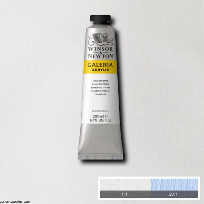 Galeria 200ml Titanium White