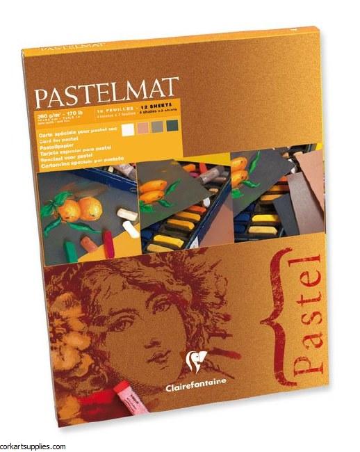 Pastelmat Pad A5+ 18x24cm 12sh