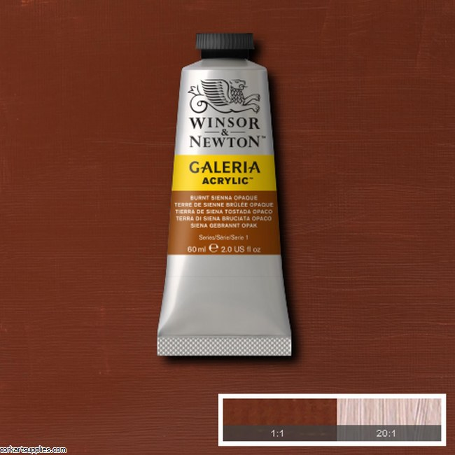 Galeria 60ml Burnt Sienna Opaque