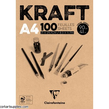Kraft Brown 90g 100sh A4