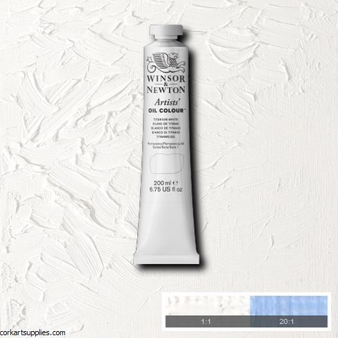 W&N Artists Oil 200ml Titanium White