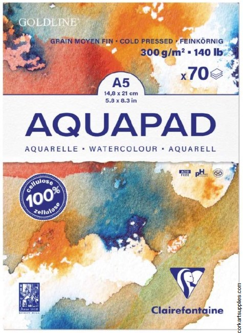 Goldline Aquapad A5 70 Sh