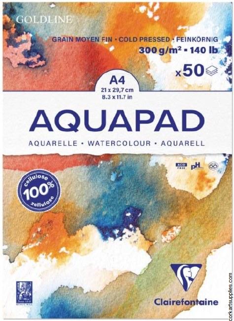 Goldline Aquapad A4 50 Sh