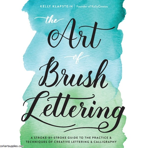 Book Art Of Brush Lettering