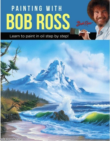 Book Paint with Bob Ross