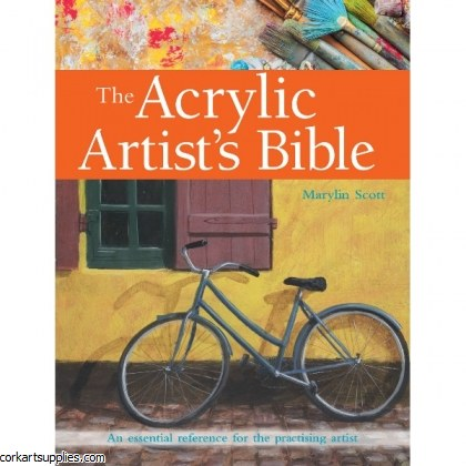 Book Acrylic Artist's Bible