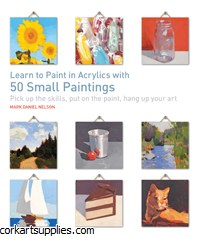 Book Acrylic 50 Sml Paintings