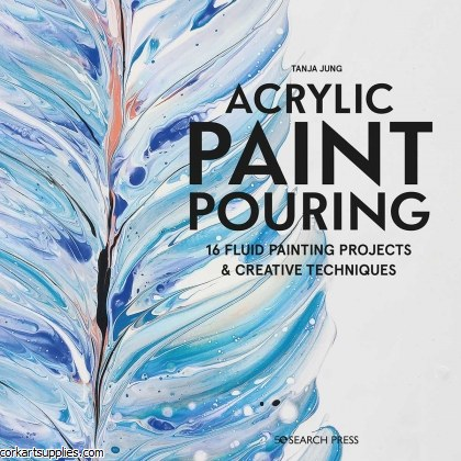 Book Paint Pouring 16 Projects