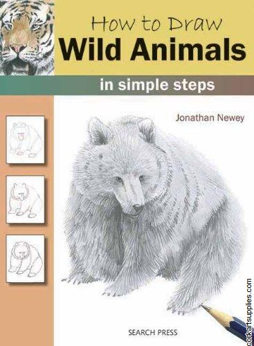 Book How To Draw Wild Animals