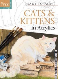 Ready To Trace & Paint Cats & Kittens in Acrylics