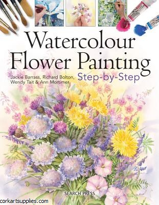 Book W/Colour Flwrs Stp by Stp