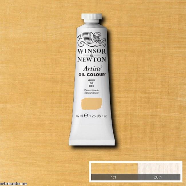 W&N Artists Oil 37ml Gold