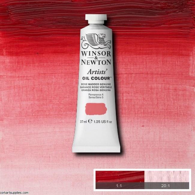 W&N Artists Oil 37ml Rose Madder Genuine