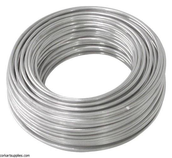 Wire Aluminium 2mm x 20m