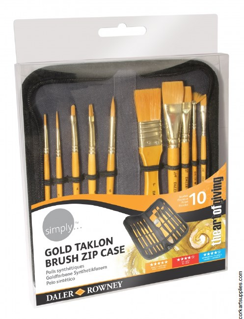 Simply Brush Wallet Acrylic 10pk
