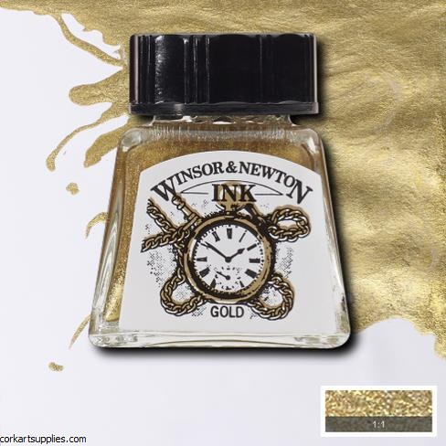 Winsor & Newton Ink 14ml Gold