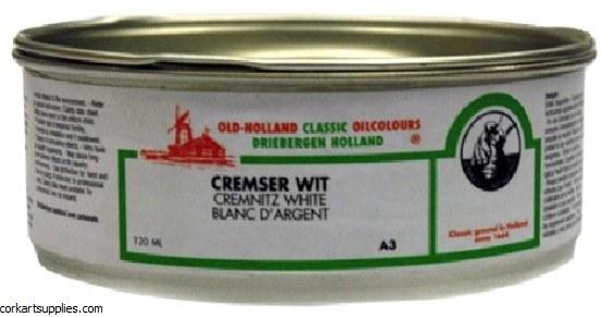 O/H Cremnitz White 120ml S.A