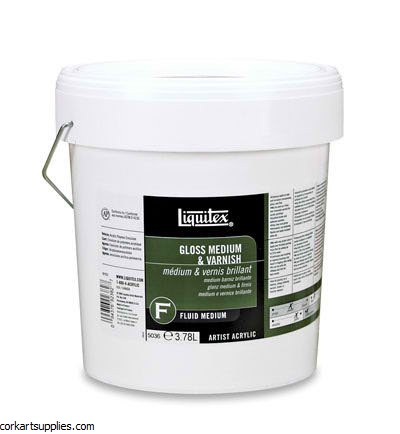 Liquitex Gloss Medium & Varnish 1 Gallon