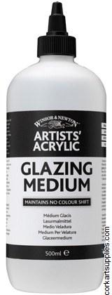 Acrylic Winsor & Newton Glazing Medm 500ml