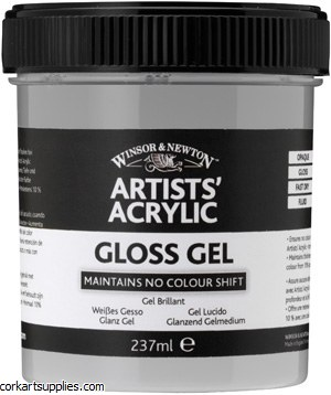 Acrylic Winsor & Newton Gloss Gel 474ml