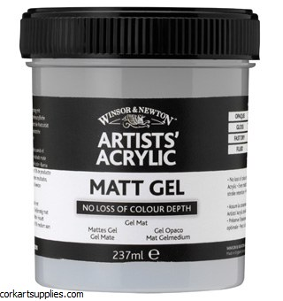 Acrylic Winsor & Newton Matt Gel 474ml