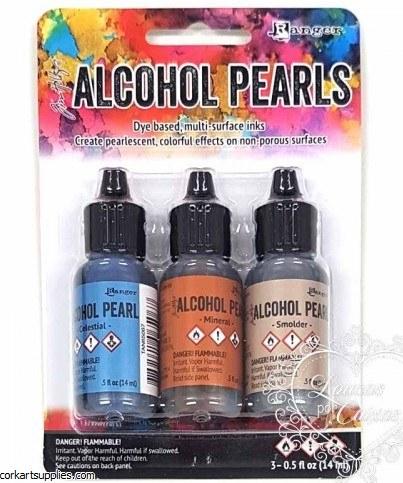 Alcohol Ink 14ml Pearl Kits #4
