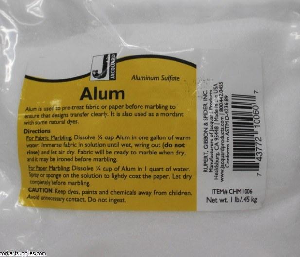Jacquard Alum 1lb / 500g Apprx