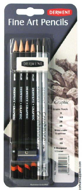 Derwent Mixed Media 8pk
