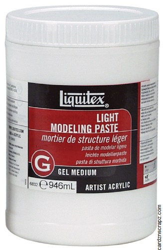 Liquitex 946ml Light Modelling Paste