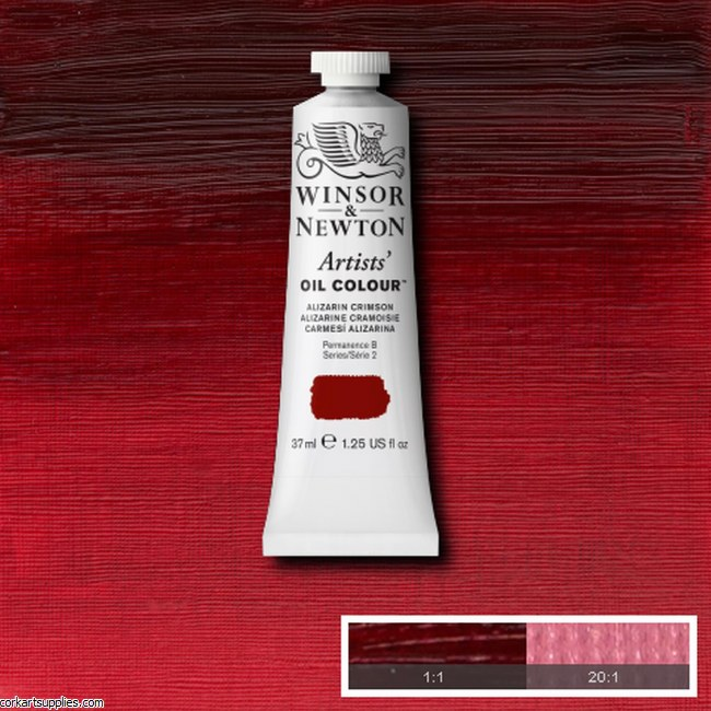 W&N Artists Oil 37ml Alizarin Crimson