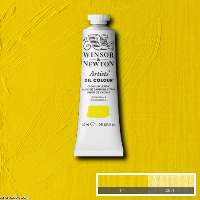 W&N Artists Oil 37ml Cadmium Lemon