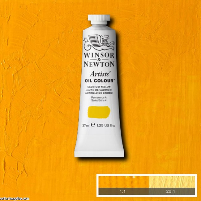 W&N Artists Oil 37ml Cadmium Yellow