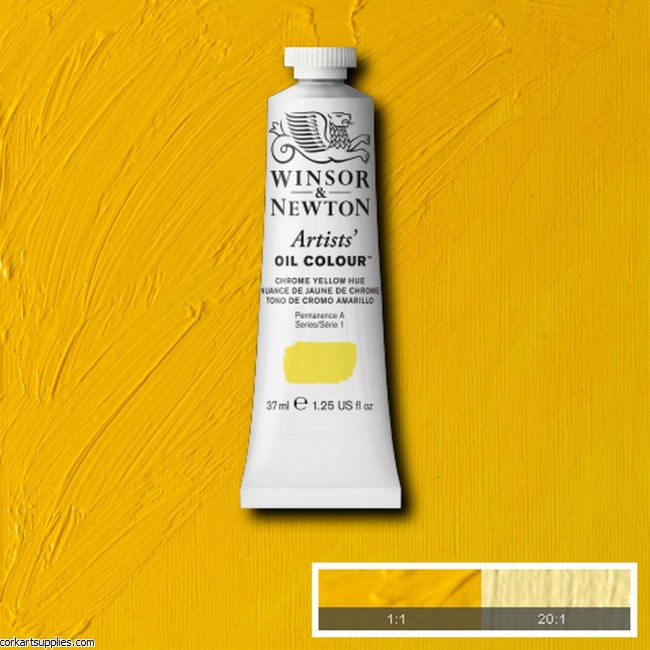 W&N Artists Oil 37ml Chrome Yellow (Hue)