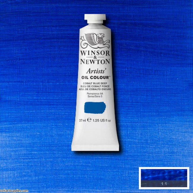 W&N Artists Oil 37ml Cobalt Blue Deep
