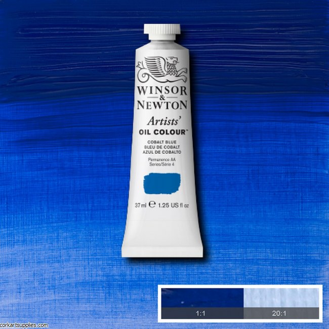 W&N Artists Oil 37ml Cobalt Blue