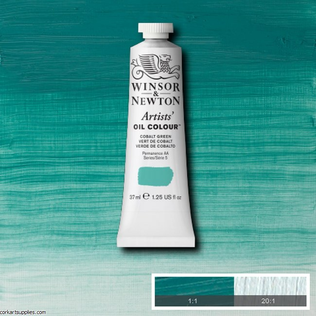 W&N Artists Oil 37ml Cobalt Green