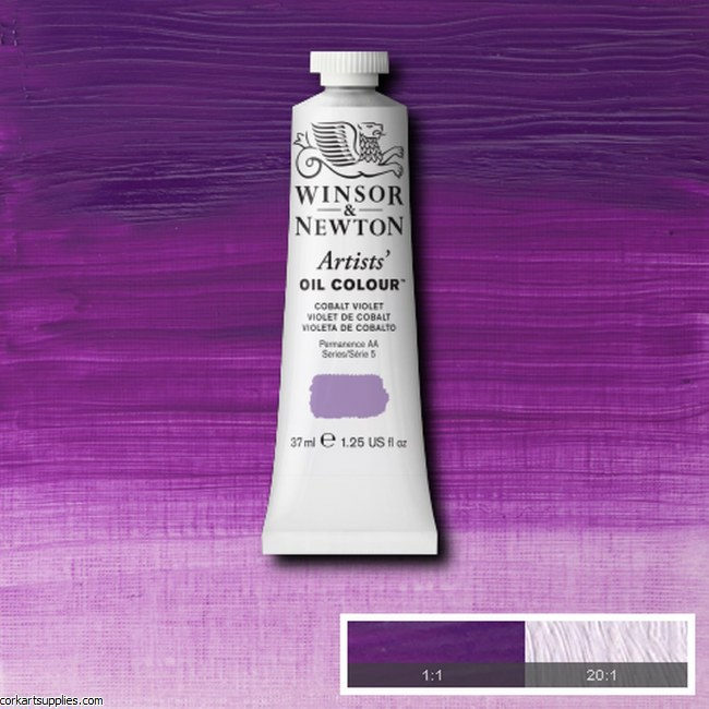 W&N Artists Oil 37ml Cobalt Violet