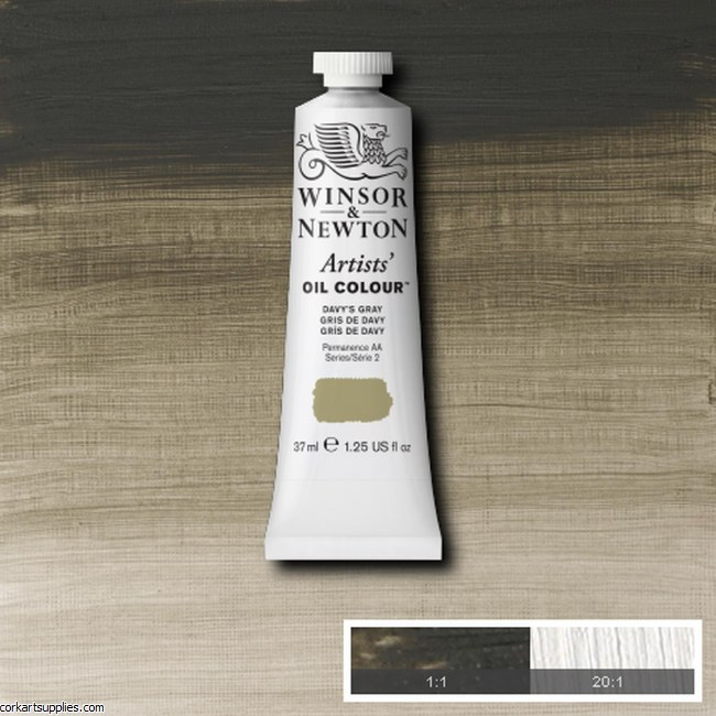 W&N Artists Oil 37ml Davy's Gray