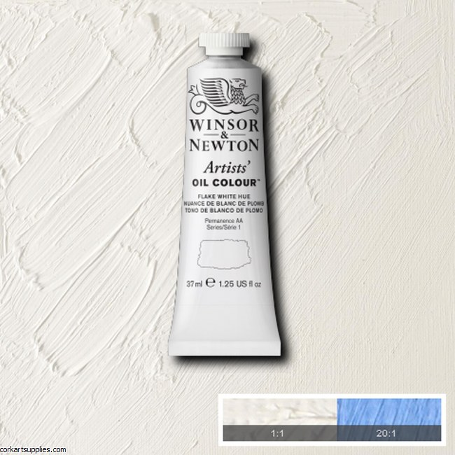 W&N Artists Oil 37ml Flake White Hue