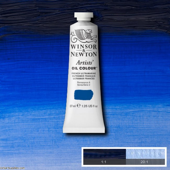 W&N Artists Oil 37ml French Ultramarine