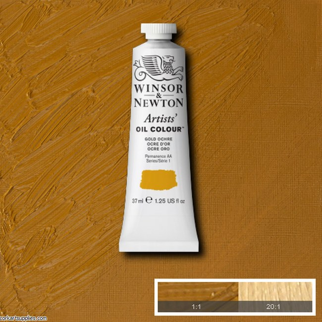 W&N Artists Oil 37ml Gold Ochre