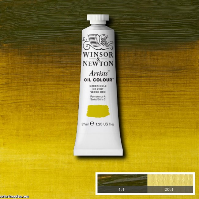 W&N Artists Oil 37ml Green Gold