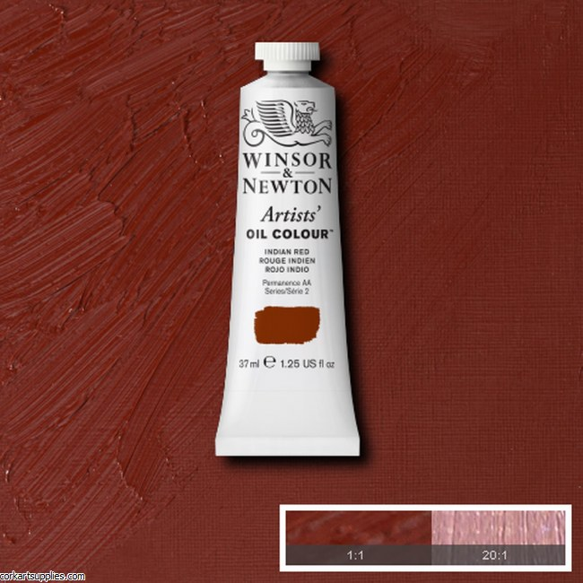 W&N Artists Oil 37ml Indian Red