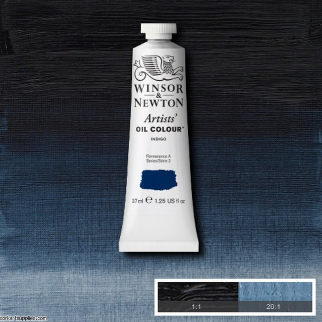 W&N Artists Oil 37ml Indigo