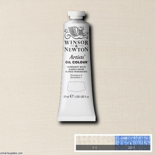 W&N Artists Oil 37ml Iridescent White